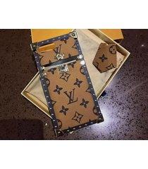 *cream aluminum eye trunk bag style case apple iphone6/6s iphone7 iphone8 plus