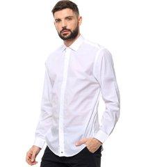 camisa blanca bensimon slim