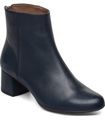 e-6403 shoes boots ankle boots ankle boot - heel blå wonders