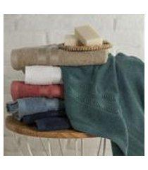 toalha de lavabo clip com barra em viscose artex lavabo branco