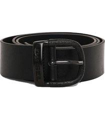 cinturon bawre belt negro diesel