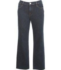 straight jeans fringes on bottom