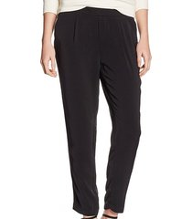 broadway soepele zwarte loose tapered ankle pantalon
