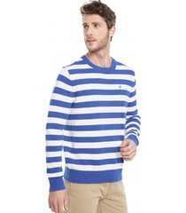 sweater regular barral bicolor calvin klein