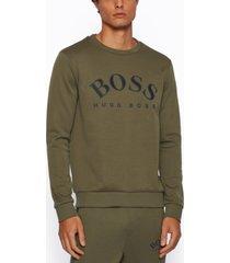 boss men's salbo slim-fit sweatshirt
