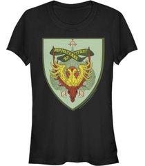 fifth sun harry potter durmstrang crest women's short sleeve t-shirt