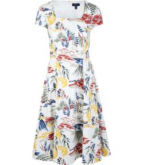 riviera view print dress