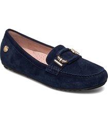 parma buckle loafers låga skor blå novita