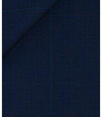 abito da uomo su misura, reda, icon blu principe di galles, quattro stagioni | lanieri