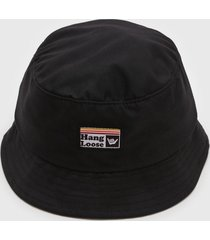 chapéu hang loose bomb preto