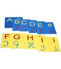 varal de letras/alfabeto 4 em 1 - eva - 26 peças - carlu