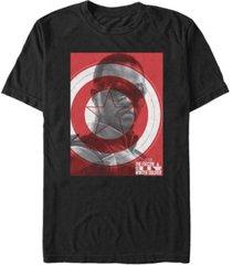 fifth sun men's falcon shield short sleeve crew t-shirt
