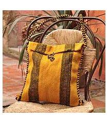 wool shoulder bag, 'mexican summer' (mexico)