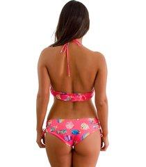 panty tipo bikini aquarium jessie de la rosa lingerie para mujer - rosa