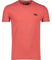 superdry vintage t-shirt rood orange label