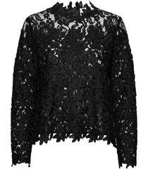 ruth long sleeve blouse lange mouwen zwart fall winter spring summer