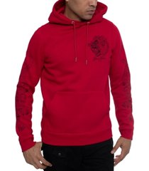 sean john men's multi-tiger hoodie