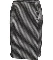 skirt knitwear knälång kjol svart gerry weber