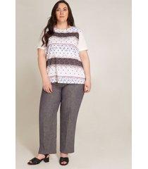 pantalón textura gris 22
