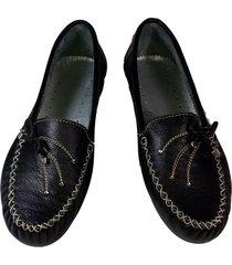 zapatos en cuero dama mujer apache mocasines baletas calzado
