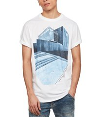 g-star raw men's lash building graphic t-shirt, created for macy's