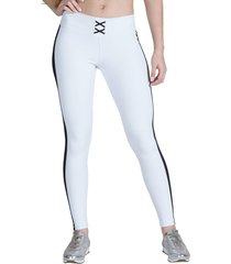 calça legging feminina surty sole strip branca
