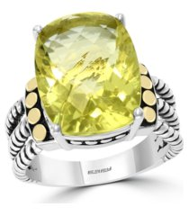 effy lemon quartz (9-1/5 ct. t.w.) ring in sterling silver