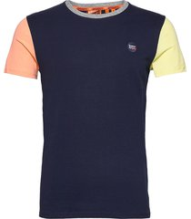 collective baseball tee t-shirts short-sleeved blå superdry