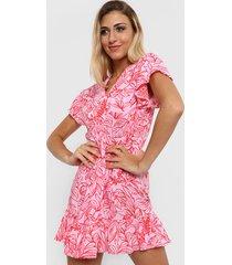 vestido rosa nano lorena