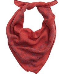 pañuelo algodón orgánico rojo gap