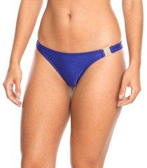 calcinha biquíni fivela lateral azul royal marcyn - 535.714 marcyn praia calcinhas praia azul