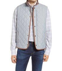 men's peter millar essex water repellent quilted traveler vest