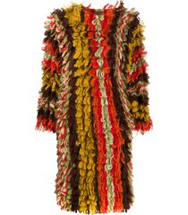 missoni pre-owned tassel wave knitted dress - brown