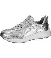sneakers naturläufer silverfärgad