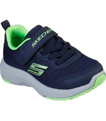 zapatilla dynamic tread azul marino skechers