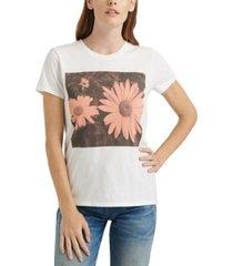 lucky brand daisy graphic t-shirt