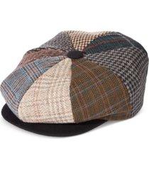 stetson men's printed newsboy cap