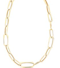 women's bony levy ofira 14k curvy link chain necklace (nordstrom exclusive)