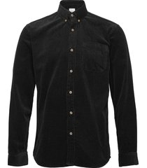 zach overhemd casual zwart minimum