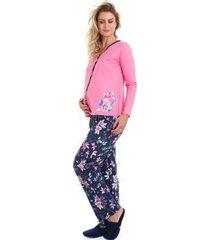 bd6c54434 Pijamas - Feminino - Manga Longa - Rosa - 19 produtos com até 46.0 ...