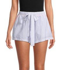 pinstripe shorts