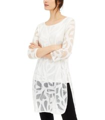 alfani petite super tunic, created for macy's