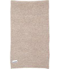 ganni knit scarf