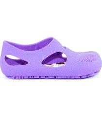 sandalia violeta un pasito a la vez aquario