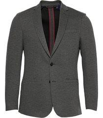 d1. slim jersey blazer blazer colbert grijs gant
