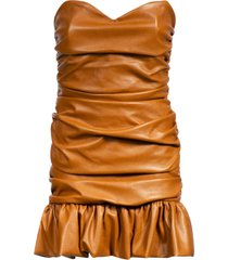 giuseppe di morabito back zip sleeveless dress