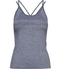 peri strap singlet t-shirts & tops sleeveless blå röhnisch