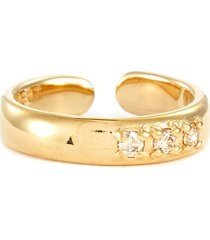'betty' zirconium open ring