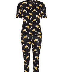 night set pj sou julia pyjamas svart lindex