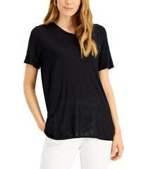 alfani scoop-neck t-shirt, created for macy's
